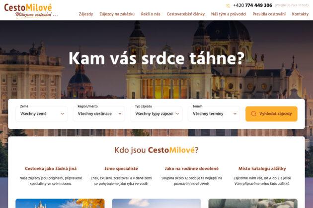 Cestomilové.cz